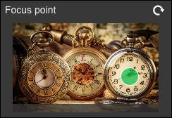 configurar o ponto de foco